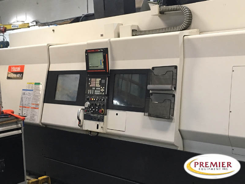 Mazak Integrex 400III x 1500U Multi-Tasking CNC Lathe