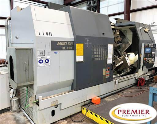 Mori Seiki SL603C CNC Lathe