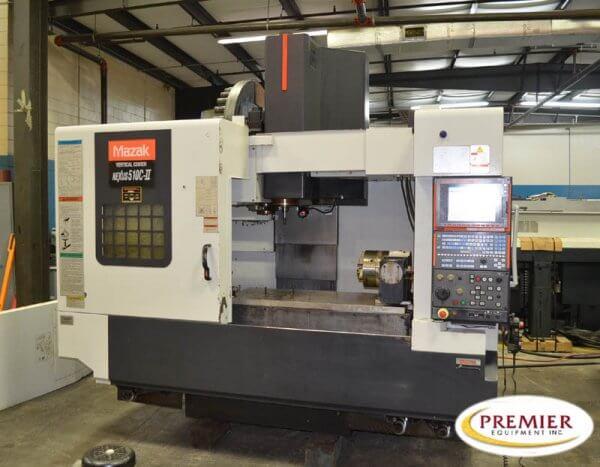 Mazak VCN510C-II Used CNC Mill