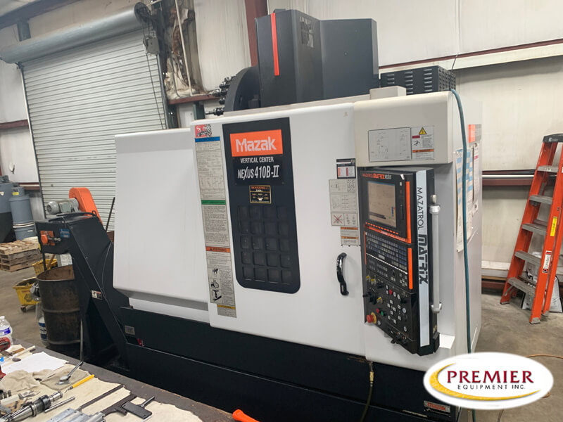 Mazak Vertical Center Nexus 410B-II CNC Mill