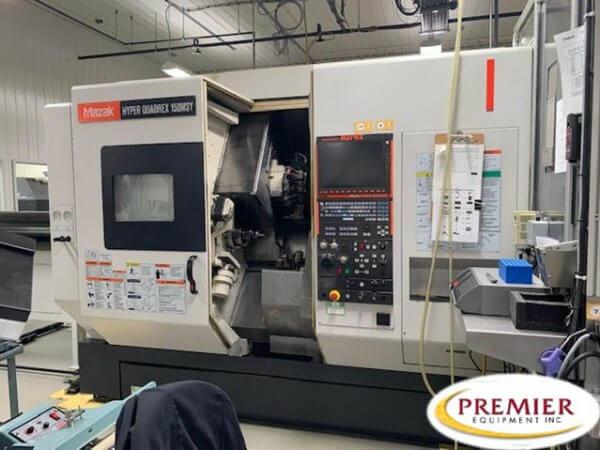 Mazak Hyper Quadrex 150MSY Multi-Axis CNC Turning Center