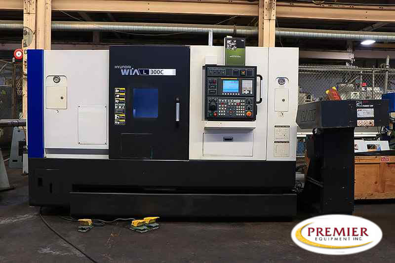 Hyundai-Wia L300C CNC Turning Center