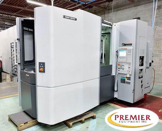 DMG MORI NHX5000 CNC HMC