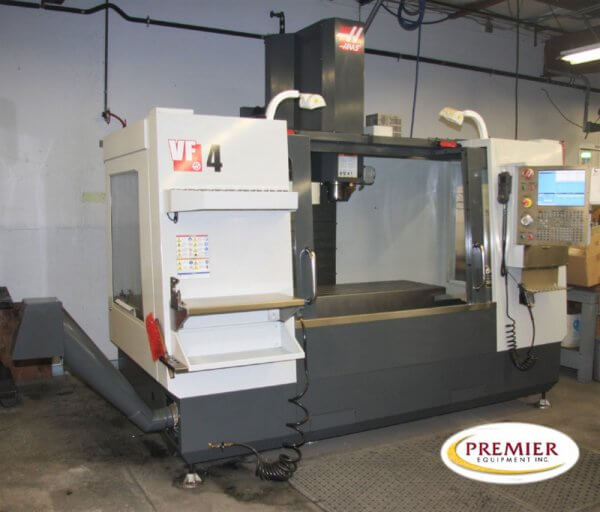 Haas VF4 with Rotary