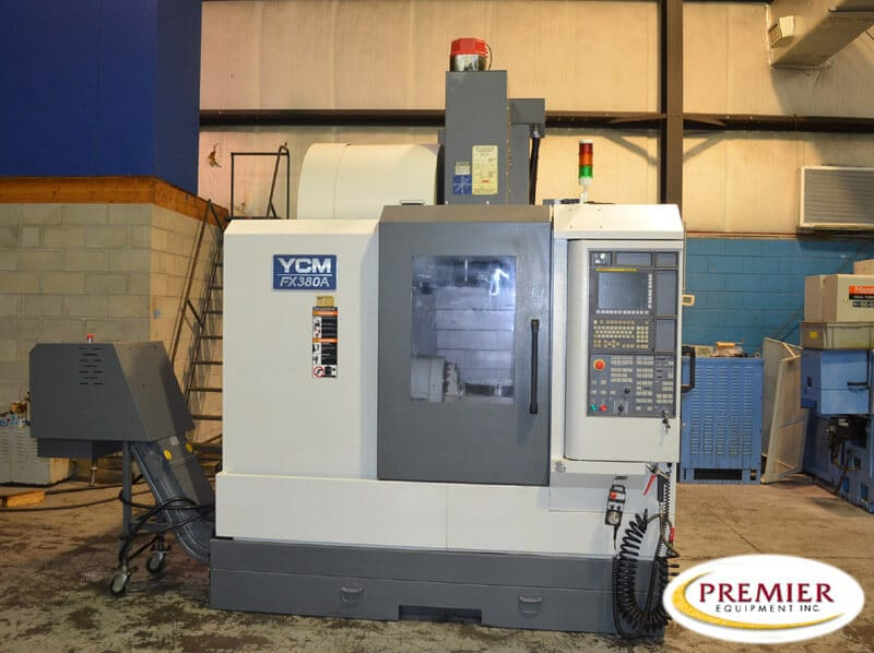 YCM FX380A 5-Axis Mill
