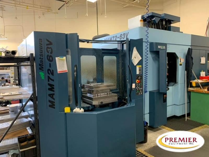 MATSUURA MAM7263V PC6 CNC 5-AXIS MACHINING CENTER