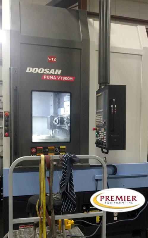 Doosan VT-900MR CNC Live Tool Verticle Turret Lathe
