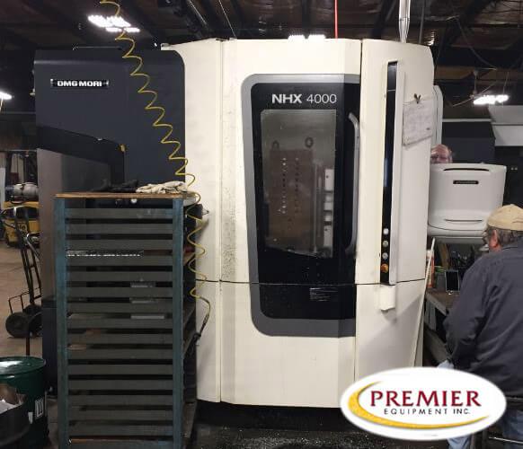 DMG Mori NHX4000 CNC HMC