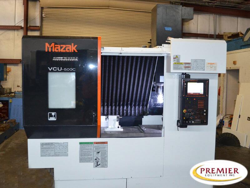 Mazak VCU500C with Rotary TAble