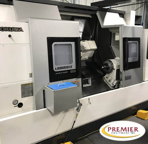 Okuma LB3000EXIIMYWBB Multi Axis CNC Turning Center