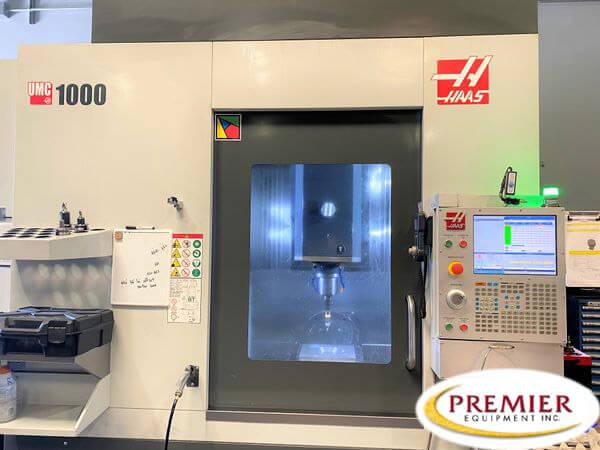 Haas UMC1000 5-Axis CNC Mill