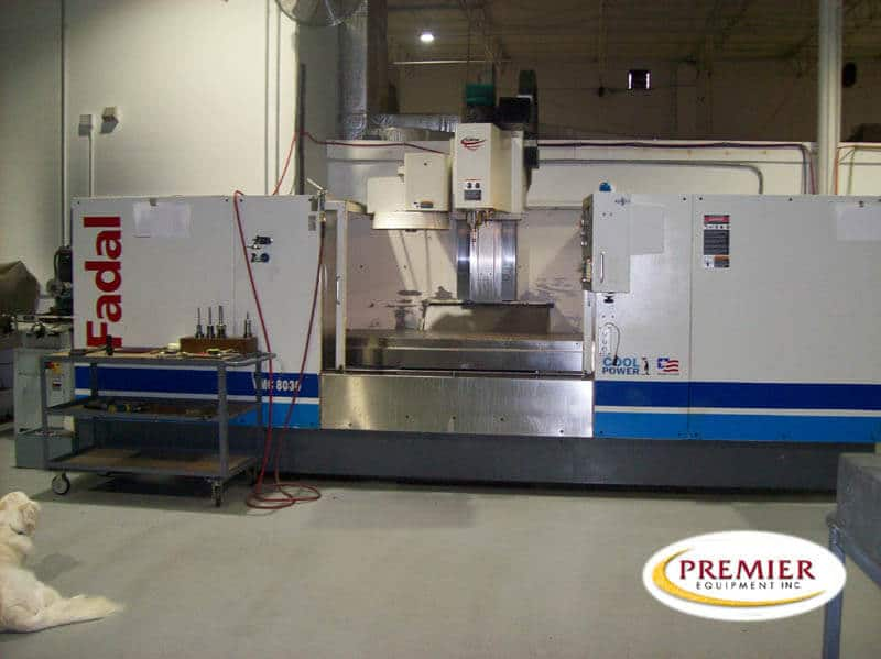 Fadal VMC8030HT CNC Vertical Machining Center