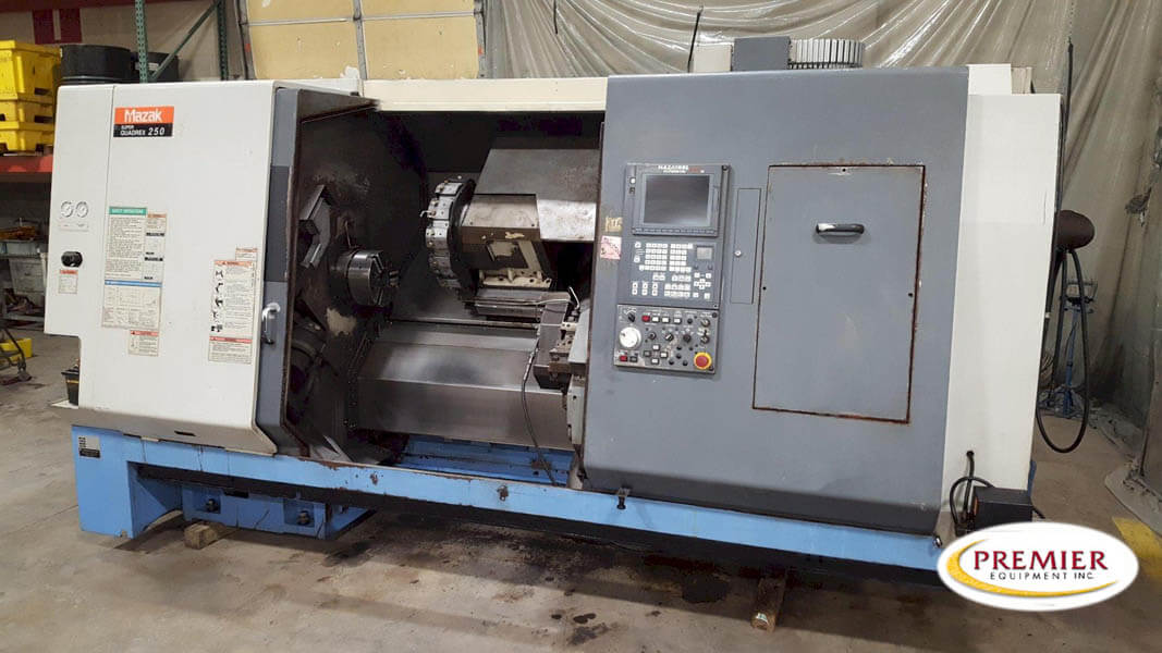 Mazak Super Quadrex 250 (SQ250)