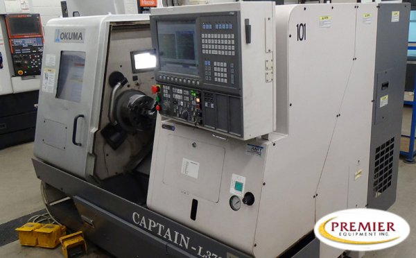 OKUMA CAPTAIN L370BB CNC TURNING CENTER