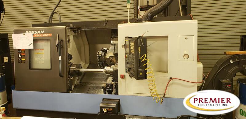 DOOSAN PUMA 2500LSY CNC Turning Center