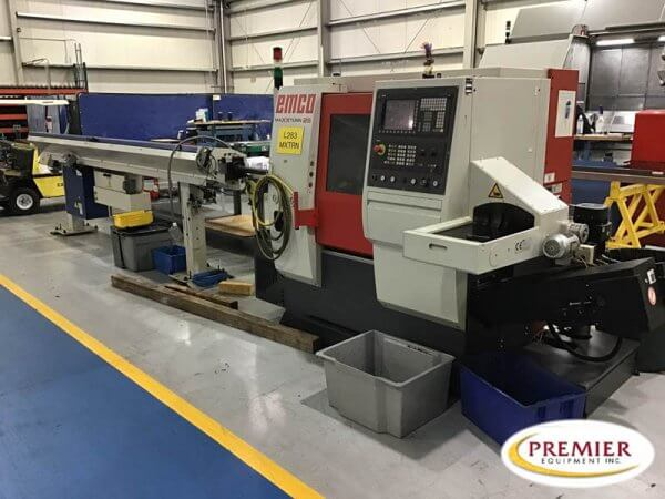Emco MAXXTURN25SMY Universal Turning Center for Complete Machining of Small, Precision Parts