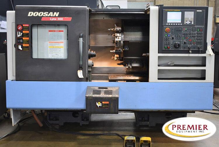 DOOSAN LYNX 300 CNC TURNING CENTER