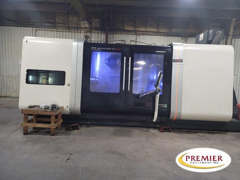 DMG Mori (Gildemeister) CTX Gamma 2000 TC linear Multi-Axis CNC Turning/Milling Center