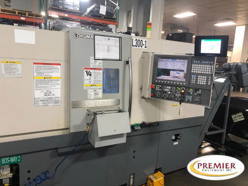 Okuma Genos L300-MW Multi-Axis CNC Lathe
