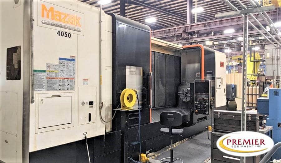 Mazak Integrex e500HSII Multi-Axis CNC Turning/Milling Center