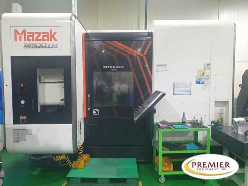 Mazak Integrex i200 Multi-Axis CNC Turning/Milling Center