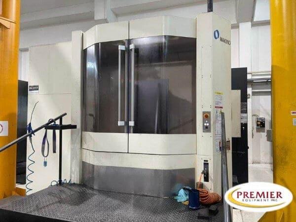 MAKINO A81NX CNC HORIZONTAL MACHINING CENTER