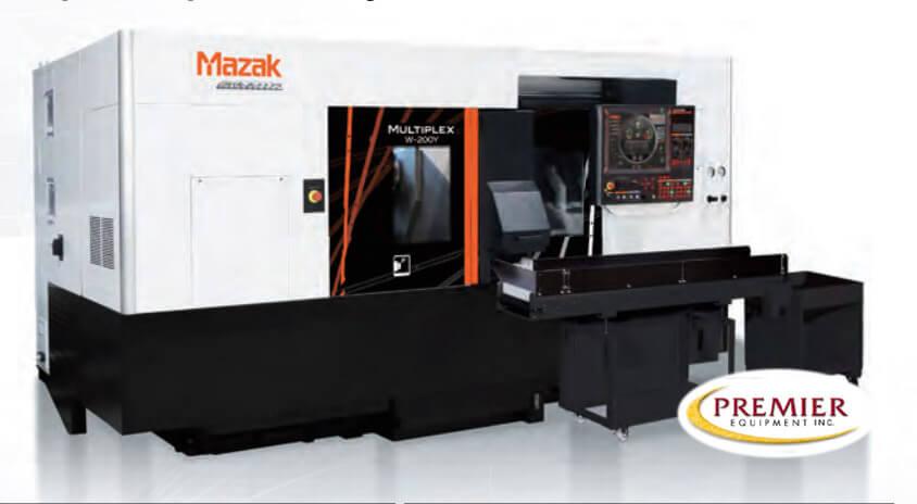 Mazak Multiplex W300Y CNC Multi-Axis CNC Turning Center