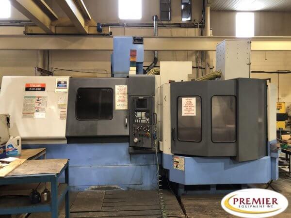 Mazak FJV250 2-Pallet CNC Vertical Machining Center