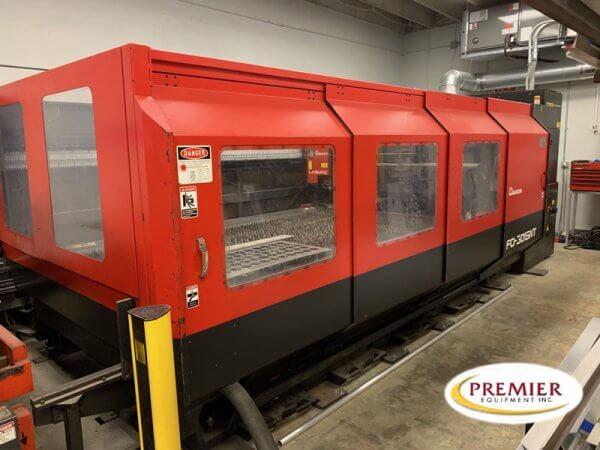 Amada FO3015NT Laser Cutting System