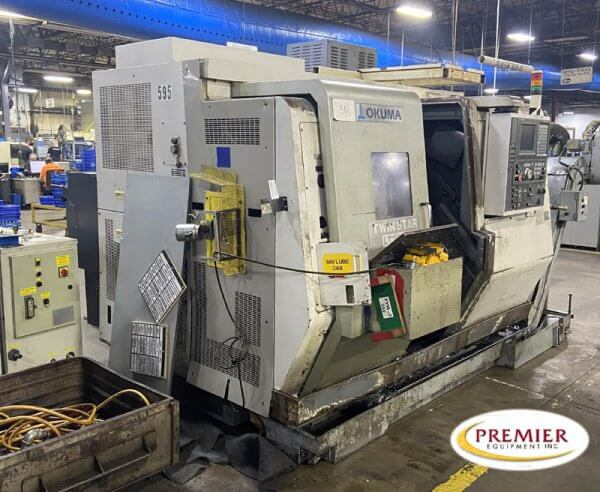 Okuma LT200-MY Twin Turret Multi Axis Lathe with Y-Axis