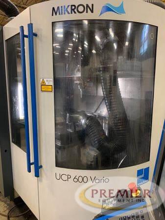 MIKRON UCP600 VARIO 5-Axis CNC Mill