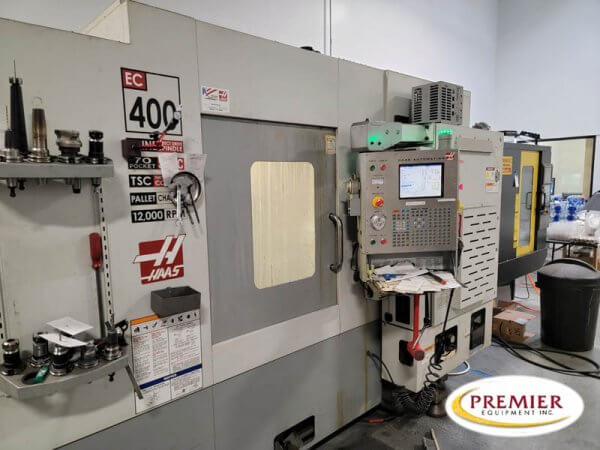 Haas EC4004AX CNC Horizontal Machining Center