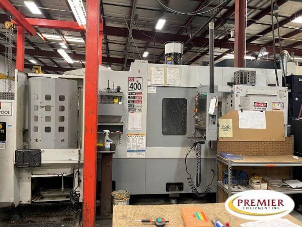 Haas EC-400PP (6-Pallet Changer) CNC Horizontal Machining Center
