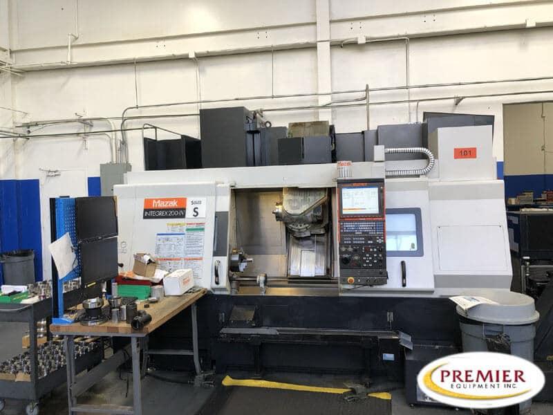 Mazak Integrex 200-4S Multi-Axis CNC Turning Milling Center