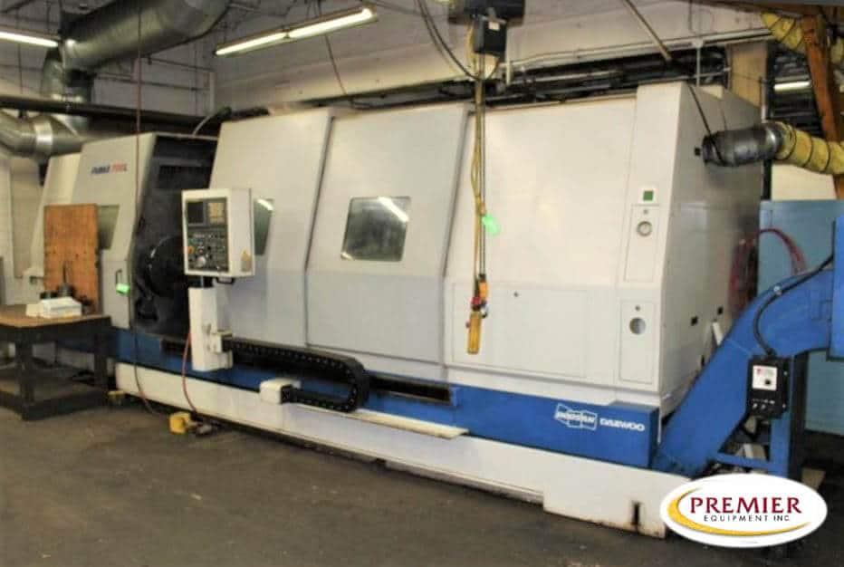 Doosan Puma 700L Slant Bed Big Bore CNC Lathe