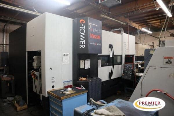 Mazak Integrex e-410HS-II x 1500U Multi-Axis CNC Lathe