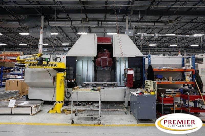 OKK KCV800 5-Axis Vertical Machining Center