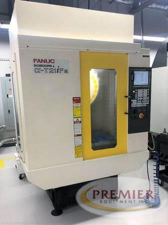 FANUC Robodrill T21IFA CNC Drill & Tap