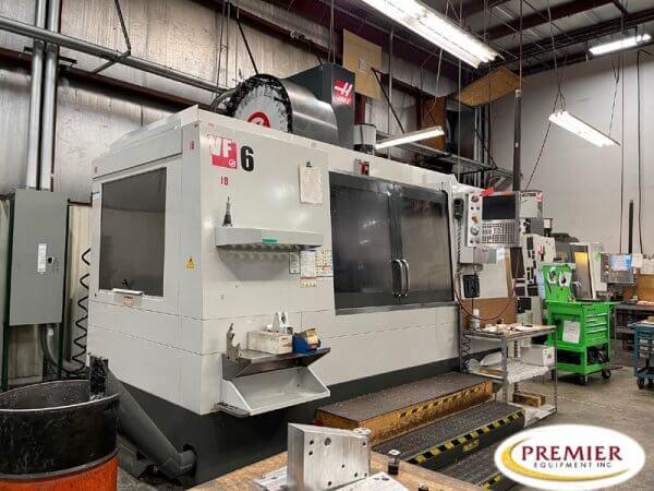 Haas VF6/40 CNC Vertical Machining Center