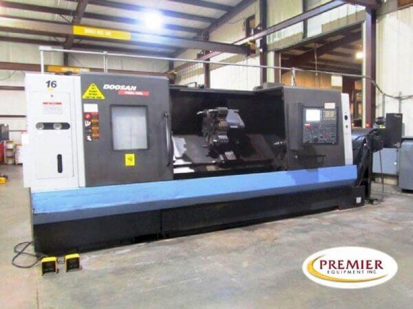 Doosan Puma 480L Used CNC Lathe