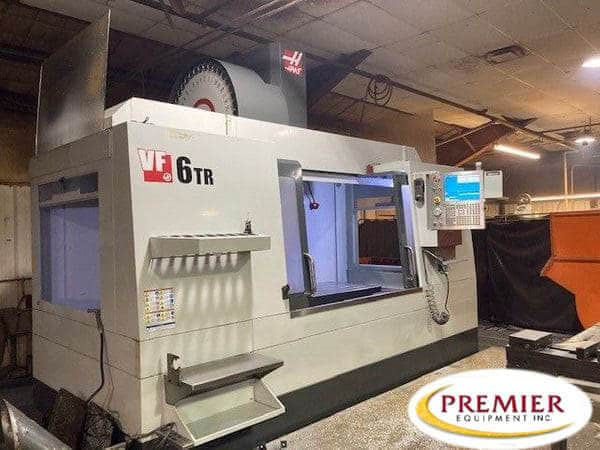 HAAS VF6-40TR 5-Axis Mill