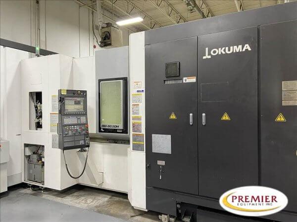 OKUMA MB5000H CNC HMC