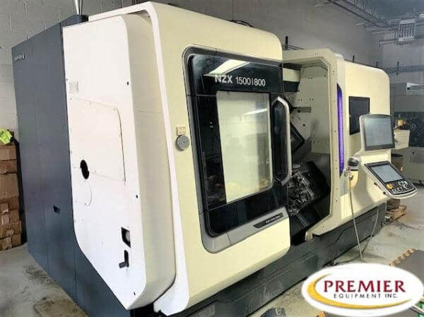 DMG Mori NZX1500/800SY2 Twin Spindle