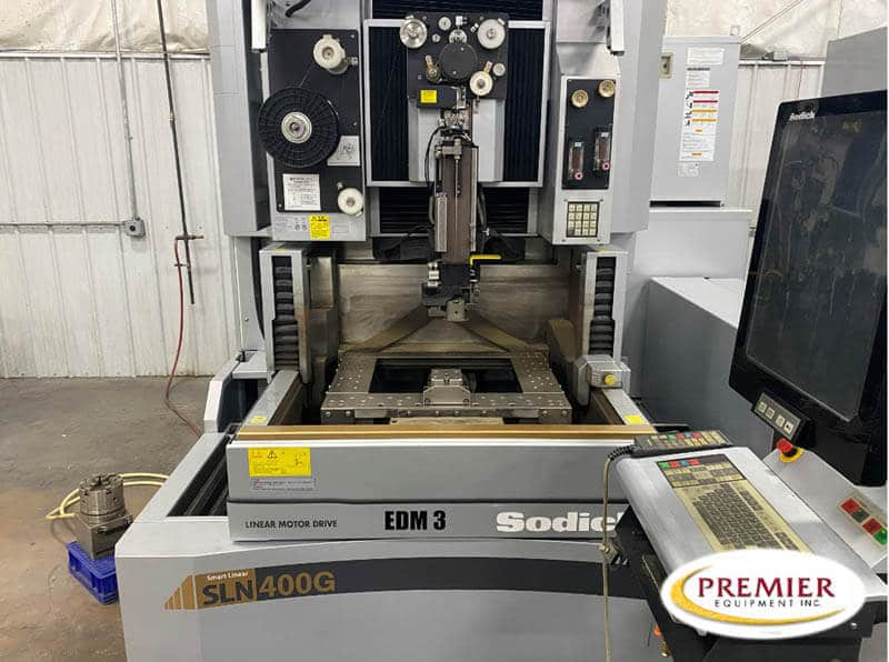 Sodick ALN400G CNC Wire EDM with Rotary Head