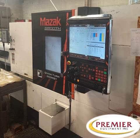 Mazak Quick Turn 250MSY Multi-Axis CNC Lathe