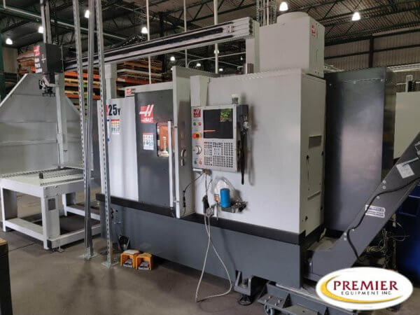 Haas ST-25Y with APL (Auto Parts Loader) Multi-Axis CNC Lathe