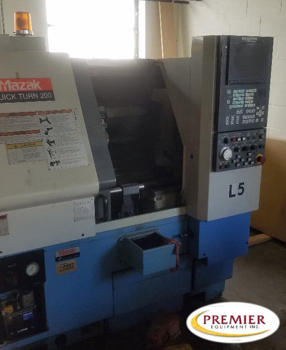 Mazak QT200 CNC Turning Center