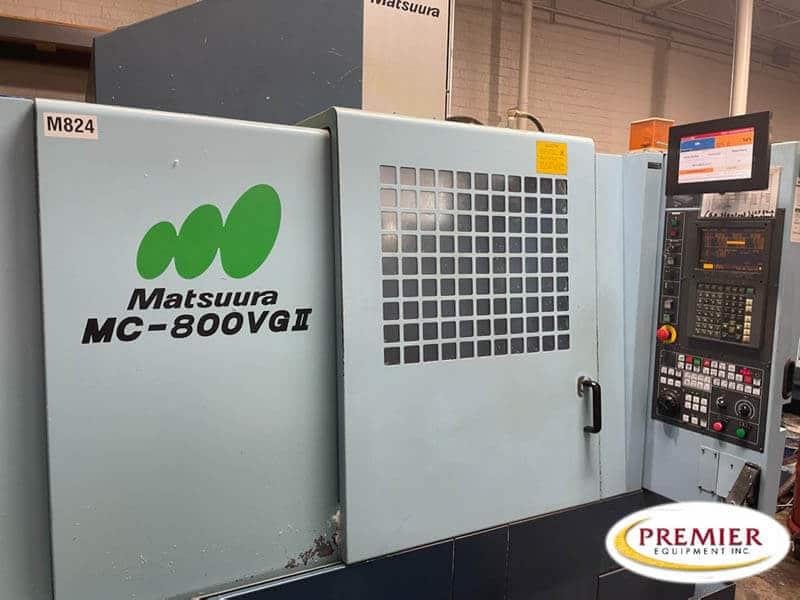 Matsuura MC800VG2 CNC Vertical Machining Center