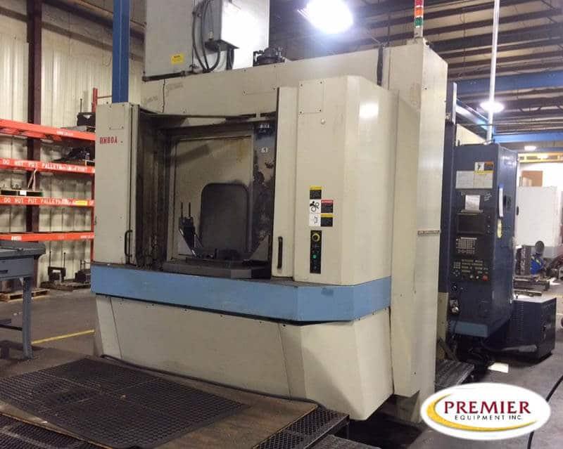 OKK HM80S CNC Horizontal Machining Center