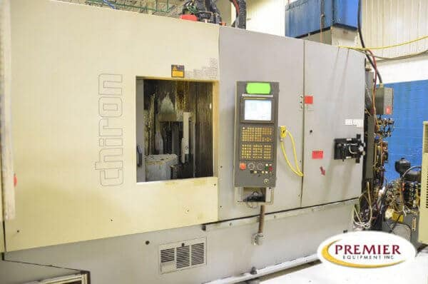Chiron DZ 15K W Magnum High Speed Twin Pallet, Twin Spindle 5-Axis CNC Vertical Machining Center